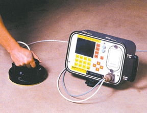 corrosion parameter analyzer in use
