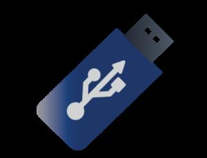 Built-in USB capability