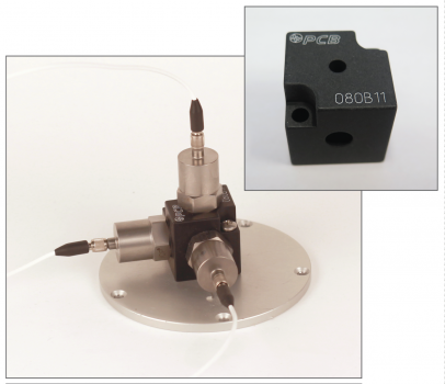 Minimate Accelerometer Triaxial Mounting Block