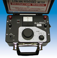 Portable Soil Resistivity Meter
