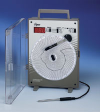Digital Temperature Chart Recorder