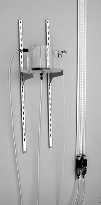 Wall Mount Manometer with Constant Head Tank